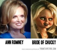 Separated at birth?  Hahaha