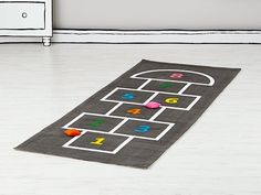 Indoor Hopscotch - could DIY! Hopped Up
