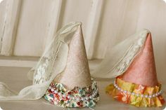 Princess Party Hats  diy #EasyPin