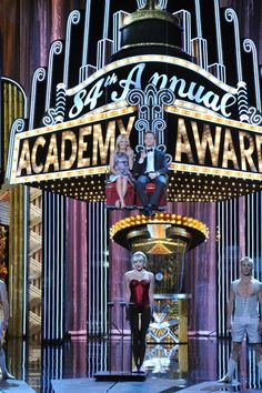"""With the help of the amazing Cirque du Soleil, Kelly and guest co-host Neil Patrick Harris made a spectacular entrance to begin Monday's """"LIVE! with Kelly"""" After Oscar® show, live from the Academy Awards® stage in Hollywood!"""