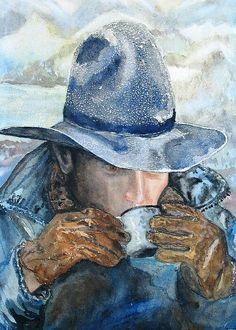 Cowboy Coffee art