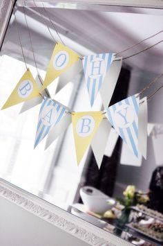 abc baby shower | Kara's Party IdeasKara's Party Ideas