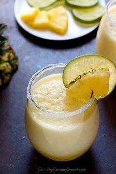 pineappl margarita, drink, fresh pineappl