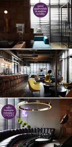 urban cool - hotel decor #decor #decoração