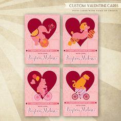 Custom Love Parade  PrintableValentine's Day Cards #HWTM #Valentine