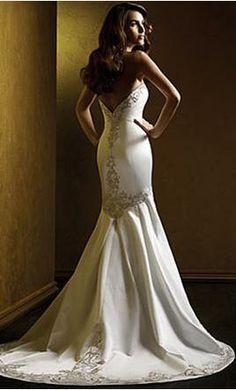 My dream wedding dress on pinterest for How much is a custom wedding dress