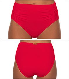 swim systems rojo pinup high waist swimsuit bottom