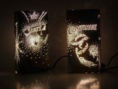 Light up cereal boxes...wow!