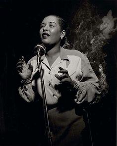 Billie Holiday, NYC, 1949  Photo by Leonard Henry