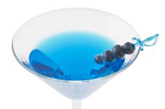 Blueberry Martini. Now here's a great way to use those extra berries!