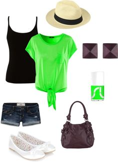 """""""Green Lover #1"""" by sourcheeks on Polyvore"""