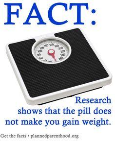 pill, gain weight