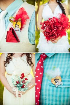 DIY wedding bouquets and bouts