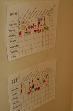 Printable Good Behavior Charts