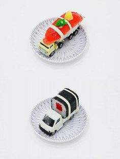 Automotive Sushi!  How cool...