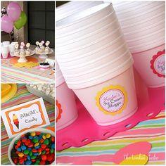 ice cream birthday party... so many fun ideas!
