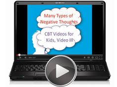 """This video for kids is the third in a series of eight videos on dealing with upsetting emotions. In this video, five categories of """"Poison Thoughts"""" (automatic negative thoughts) are introduced.  Tags: CBT, autism, free video."""