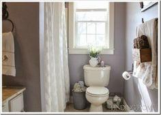 Favorite Paint Colors - bathroom color.. & towel bucket !