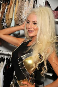 Courtney Stodden at Designer Maggie Barry's Fashion Show and Launch of 'M8 Urban' in Los Angeles La Maison de Fashion Courtyard on May 8, 2013