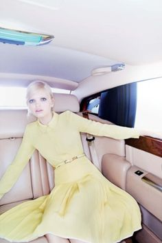 Sunshine yellow spring from Jill Stuart 2012.