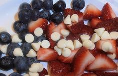 Lots of red, white and blue ideas for Memorial Day, Flag Day and July Fourth!