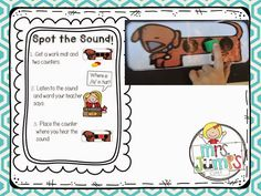 Alphapalooza Session handouts FREEBIES from Deanna Jump!  I love all of these great ideas for developing phonological awareness with your kinders, especially the Spot the Sound game!