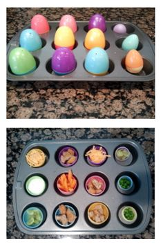 Easter Egg Surprise Lunch