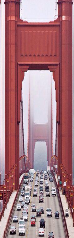 #San Francisco Golden Gate Bridge #amazing