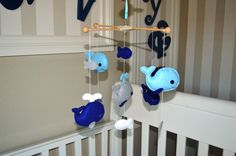 Project Nursery - Whale Nursery Mobile