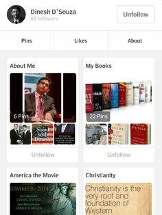 Dinesh D'Souza is now on Pinterest