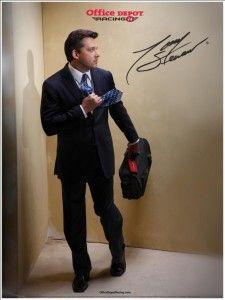 Tony Stewart ad stewart ad, peopl, toni smoke, suit, offic depot, man smoke, lovin nascar, toni stewart, nascar fun