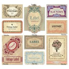 Vintage labelsvintage labels set (vector) © Mila Petkova #22787335