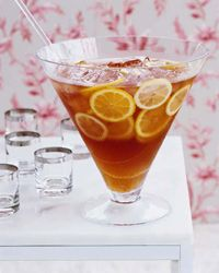 mix of cocktails to serve at holiday parties. | Brandy-Wine Punch ...