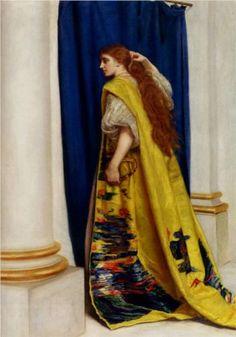 """""""Esther"""" -  John Everett Millais"""