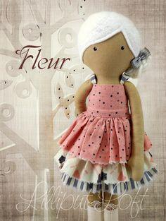 Fleur - Pretty Poppets © Lilliput Loft 2014