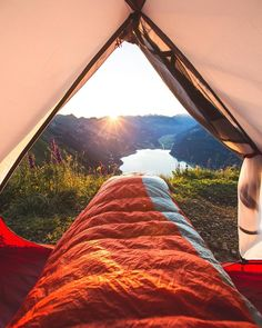 #camping , Perfect sight to wake up to | 📸 Patrick A. Güller