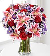 Spring flowers for mom