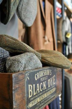 collection of flat caps