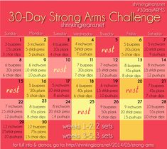 30-Day Strong Arms C...