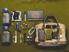 Ted Baker Briefcase Timex Expedition Military Field