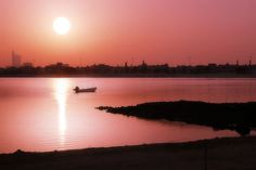Sunset in Arad - Bahrain