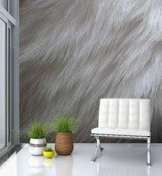 fur wallpaper - just an idea, but I have always dreamt about it. MisterWallpaper.com.au