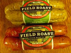 @fieldroastgrain vegan sausages! SO good! #MyVeganJournal