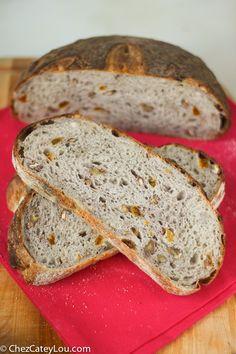 Golden Raisin Pecan Bread