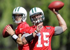 """Mild Tebowmania as Jets open camp"" San Francisco Chronicle (July 26, 2012)"