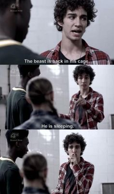 Nathan is a legend, why did Rob leave Misfits at the end of series 2?