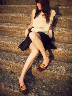 """Wonderful warm light and head to toe vintage means great Hannah inspiration"" -Jenn Rogien"