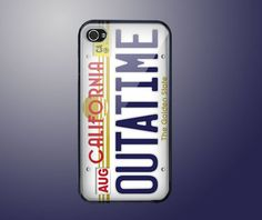 Back to the Future iPhone Case - If I had an iPhone I'd totally buy this!