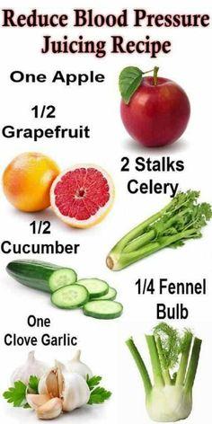 naturally lowering blood pressure juice recipe