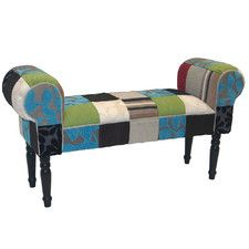 Patchwork Chaise Bench chais bench